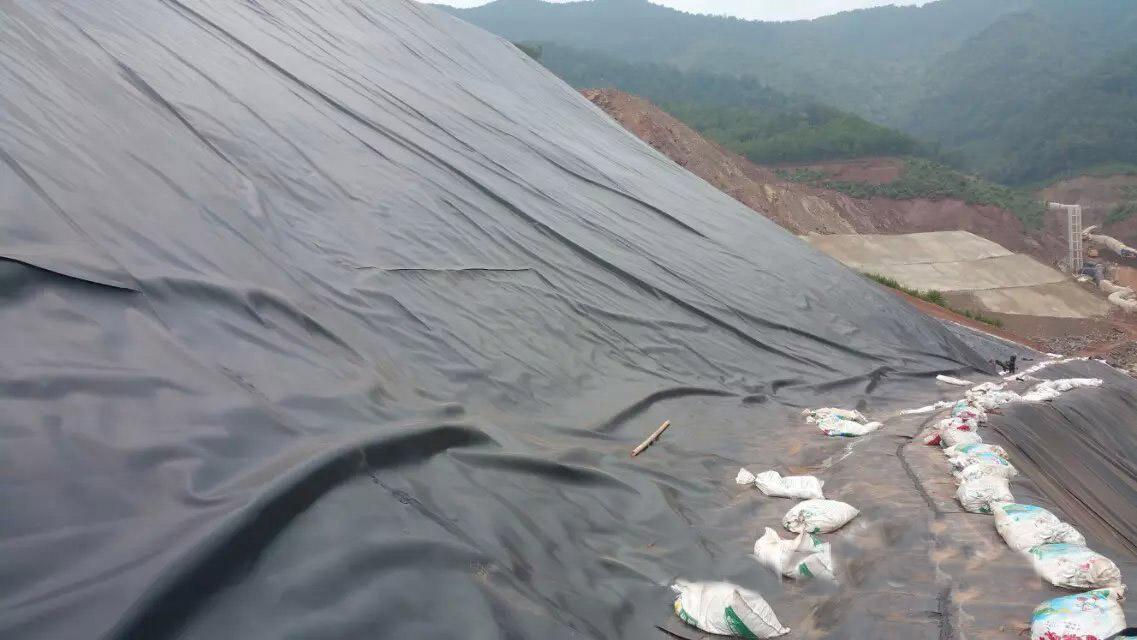 山西太谷县垃圾填埋场防渗工程